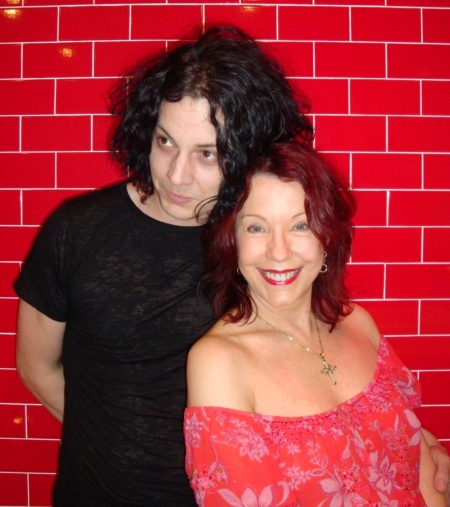 Jack White and Pamela Des Barres