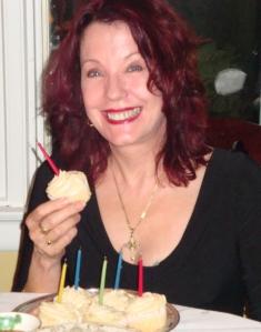 Pamela's birthday cupcakes